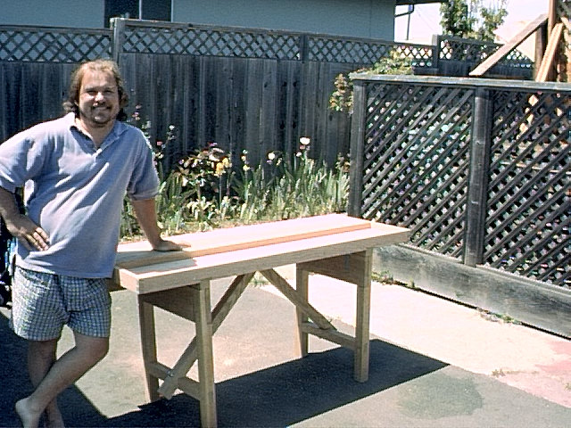 me and bench.jpg (119293 bytes)